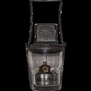 """Rare """"Star Tumbler"""" Skater's Lantern Patented Jan.13,1874 !!!"""