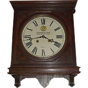 """Virginian Railway"" Gallery Clock Office #5 Model made by Seth Thomas Clock Co. with"