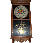 "Super 5 Cent ""Pepsi-Cola"" Advertising Clock made by the Sessions Clock Co. with a .."