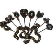 Goldette Victorian Revival Brooch