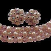 Laguna Pretty in Pink Pearl Demi In Box