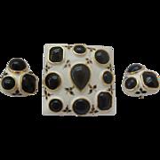 SALE Sensational Castlecliff Brooch & Earrings
