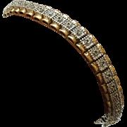 .5 CT Diamond & Sterling Vermeil Tennis Bracelet