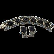 SALE Selro Signed Bracelet & Earrings