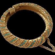 Frances Hirsch Faux Turquoise & Pearls Bracelet