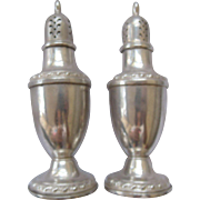 Classic Rogers Sterling Salt & Pepper Shakers