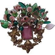 "Bettina Von Walhof ""Over the Top"" Brooch"
