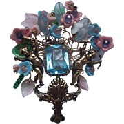 Bettina Von Walhof Pastel Masterpiece Brooch
