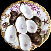 Rare & Exceptional Antique Haviland Turkey Plate
