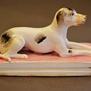 SALE Antique Staffordshire Dog