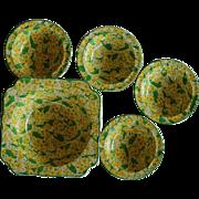 SALE Crown Ducal Pudding Bowl Set ~ Primula/Primrose