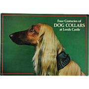 SALE Four Centuries of Dog Collars At Leeds Castle Book