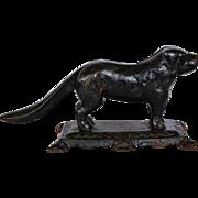 SALE Victorian Cast Iron Dog Nutcracker