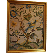REDUCED English Needlework ~ Deer, Snake, Bird, Squirrel & Tree