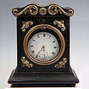 SALE Antique French Box or Casket, Pocket Watch Holder, Stand, Napoleon III