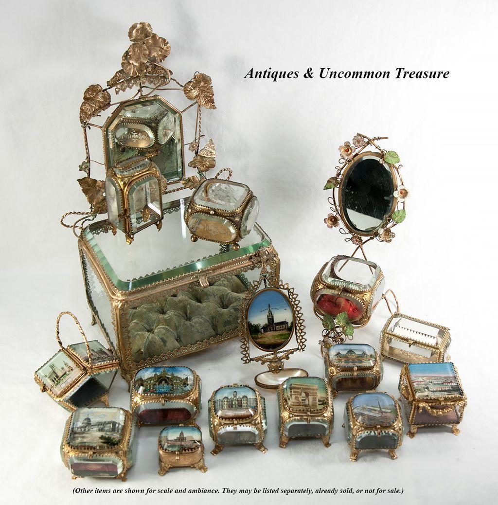 Antique french souvenir box eglomise jewelry casket hotel de antique french souvenir box eglomise jewelry casket hotel de ville lyon france publicscrutiny Images