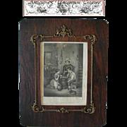 SALE Rare 19c French Gilt Gesso/Wood Regency Frame