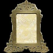 SALE Superb LG 19c Austrian/French Reticulated Gilt Bronze Frame