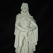 SALE English Parian Statue Lazare Hoche