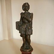 SALE French Bronze Statue of William Shakespeare