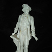 SALE Parian Figure of Wagner
