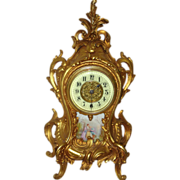 China Porcelain Clocks Timepieces On Ruby Lane Page 3 Of 8