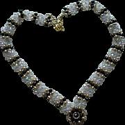 SALE Swarovski Crystal Necklace and Bracelet