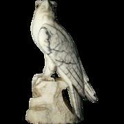 SALE Alabaster Italian Carved Eagle
