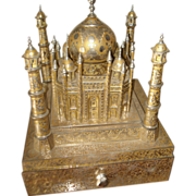 SALE Fred Zimbalist Taj Mahal Music Box