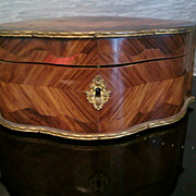SALE French Marquetry Inlaid Napoleonic Box