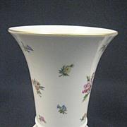 SALE German Hutschenreuther Floral Vase