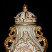 Royal Bonn Louis XV Pot Pouri Porcelain Urn