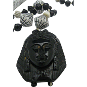 Neiger Brothers Egyptian Revival Necklace Vintage London