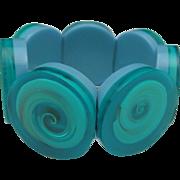 Ocean Breeze Embedded Seashell Bracelet