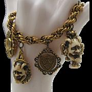 SALE Florenza Noh Mask Bracelet