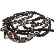 SALE Monies Style Bone Necklace