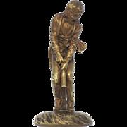 SOLD KAUBA Vienna Bronze Waiter Opening Wine Bottle 1909