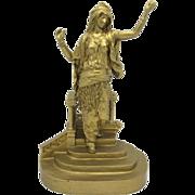 SOLD BERGMAN Vienna Bronze Orientalist Figure LARGE