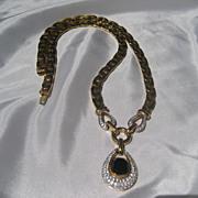 SALE Shop Special! Vintage Ciner Rhinestone Necklace One Of My Favorites!