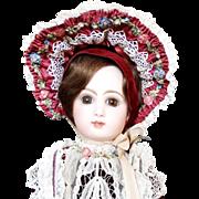 """SALE Antique 20"""" Tete Jumeau Bebe Doll Medailles d'or Paris Bte SGDC Museum Exhibited"""