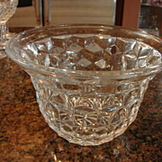 "Fostoria Glass American 4 ¾"" Fruit Bowl"