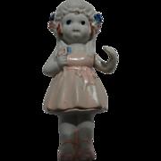 Vintage Cake Bisque Bride Doll Japan