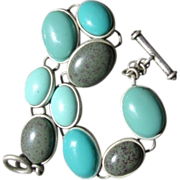 SALE PENDING Super Cute Fua Turquoise Chunky Bracelet