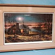 Terry Redlin Artist Proof Pure Contentment 1989 Closed Sold Out Limited Edition Print Custom F