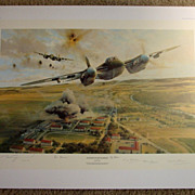 """Rangers On The Rampage"" Robert Taylor Limited Edition Aviation Print WWII Pilots Si"