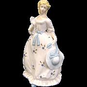 """1978 Royal Worcester Porcelain Lady Figurine """"Summertime"""""""