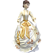 """Royal Worcester Porcelain Victoria Lady """"Charity"""" Figurine 1978"""