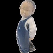Royal Copenhagen Figurine #3250 Boy with Broom