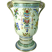Exquisite Noritake Nippon Hand Painted Vase 9""