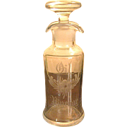 Cambridge Glass French Dressing Oil & Vinegar Bottle